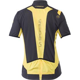La Sportiva Mach Veste Homme, black/yellow